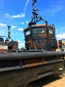 UK/NL landingforce @ Medemblik