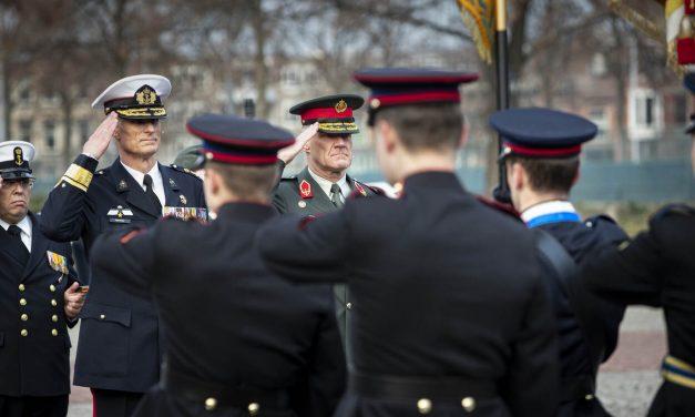 NLDA onder commando van Gen. Oppelaar