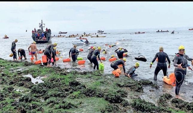monsterzwemtocht levert Recordbedrag op